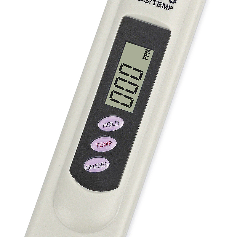 Portable TDS 3 Water Quality Purity Tester Pen with Thermometer