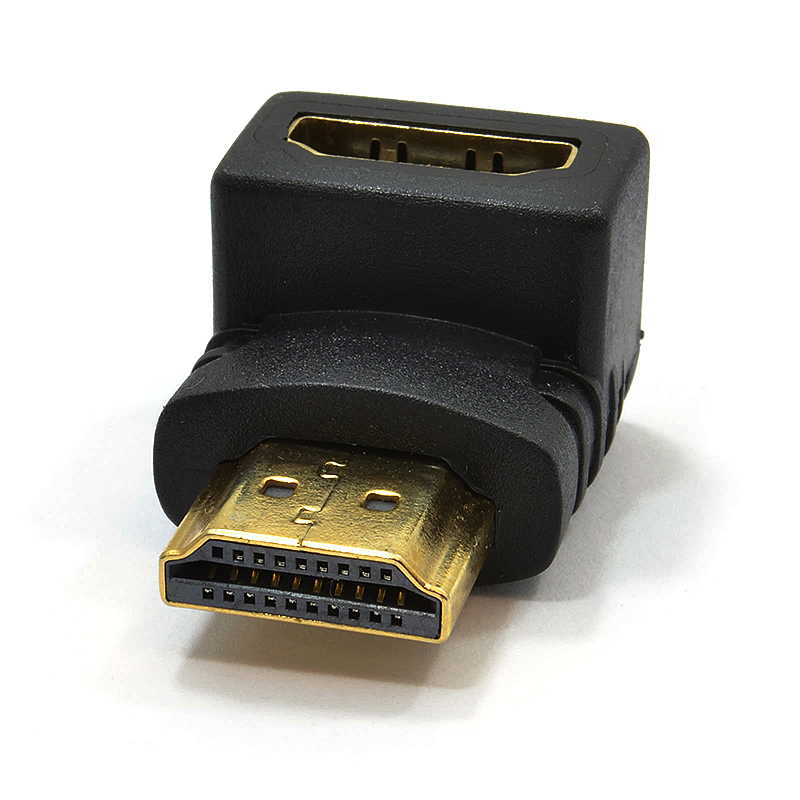 HDMI Male to Female 90 Degrees Right Angled Adapter Converter