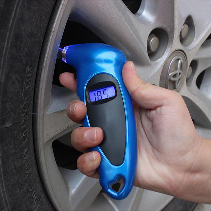 Digital Tire Pressure Gauge for Car Auto Truck with LCD and Non-Slip Grip