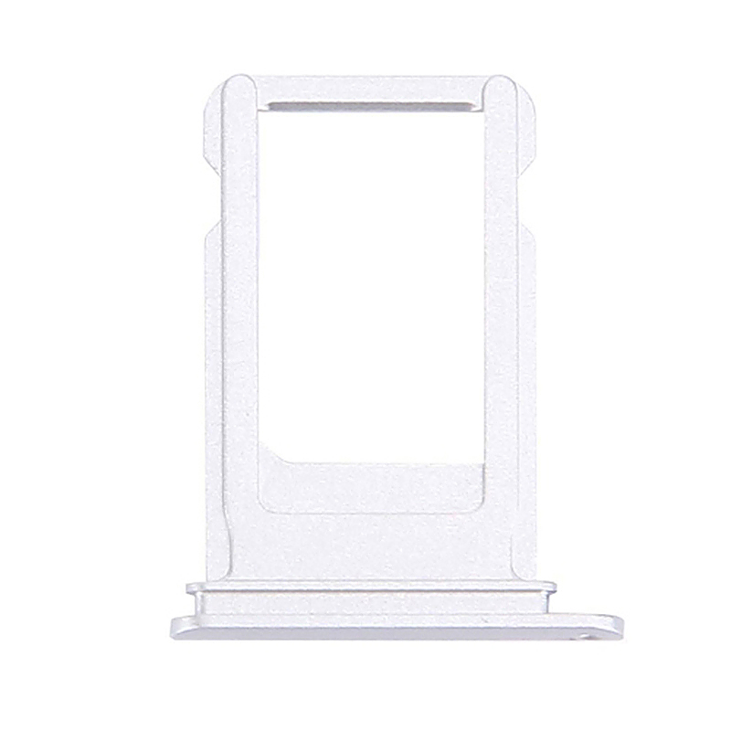 SIM Card Tray Holder Slot Plate Replacement for iPhone 7 - Silver