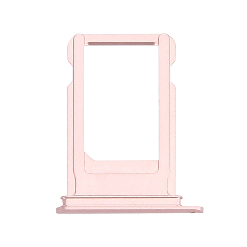 Nano SIM Card Holder Tray Slot Replacement Part for iPhone7 Plus - Rose Gold