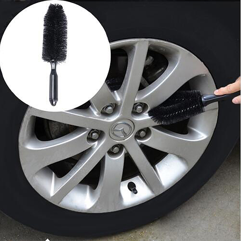 Portable Loop Style Auto Car Vehicle Wheel Tire Rim Hub Washing Brush