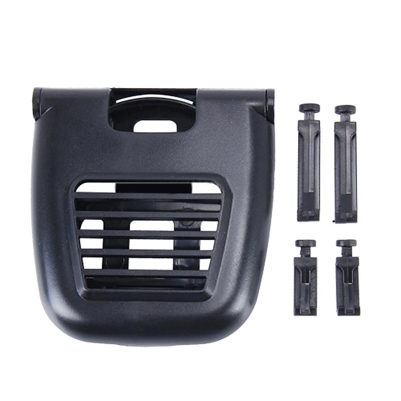 Foldable Car Air Vent Outlet Beverage Cup Drink Bottle Holder Mount - Silver