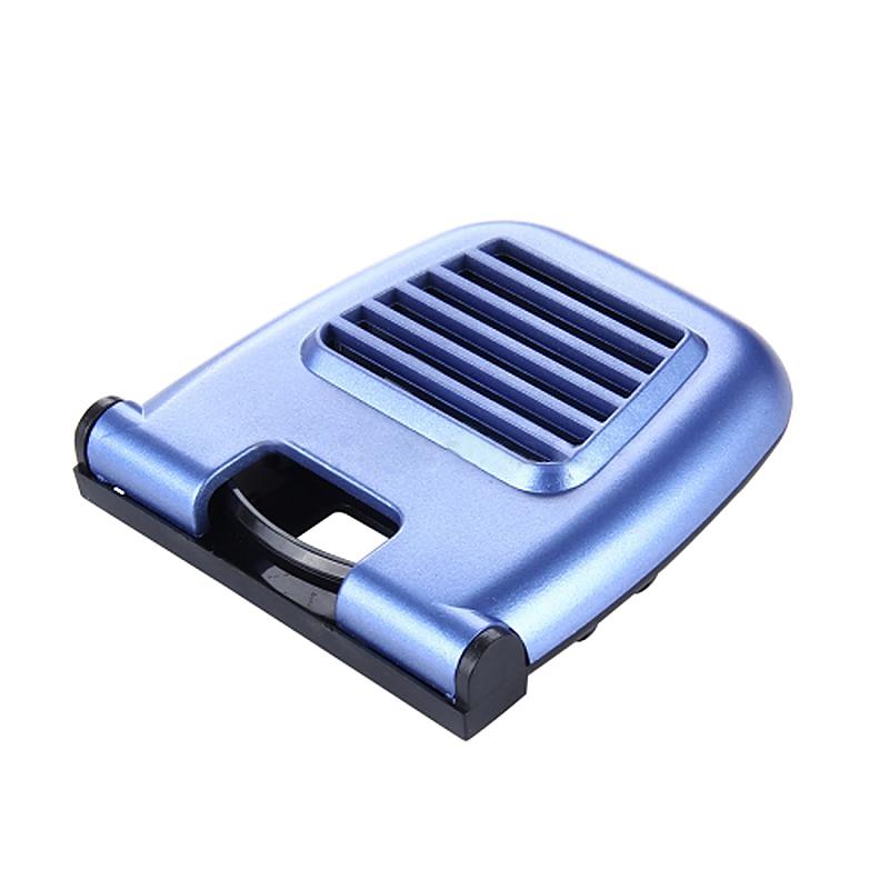 Foldable Car Air Vent Outlet Beverage Cup Drink Bottle Holder Mount - Blue