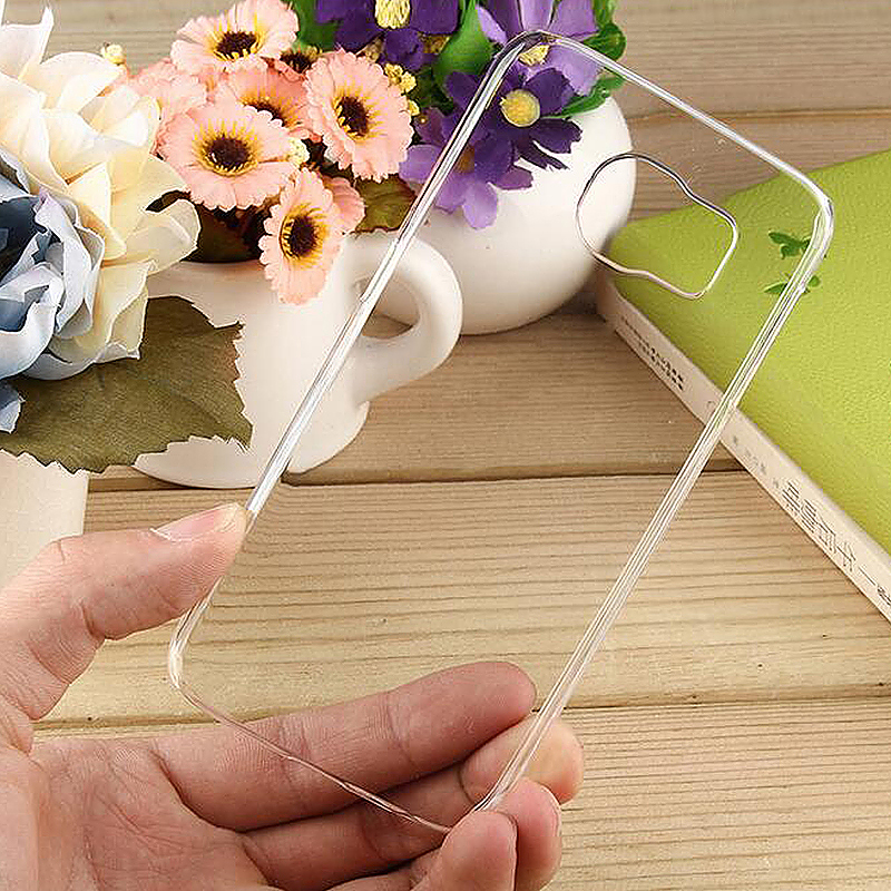 Transparent Clear PC Hard Cover Case for Samsung S6 Edge Plus