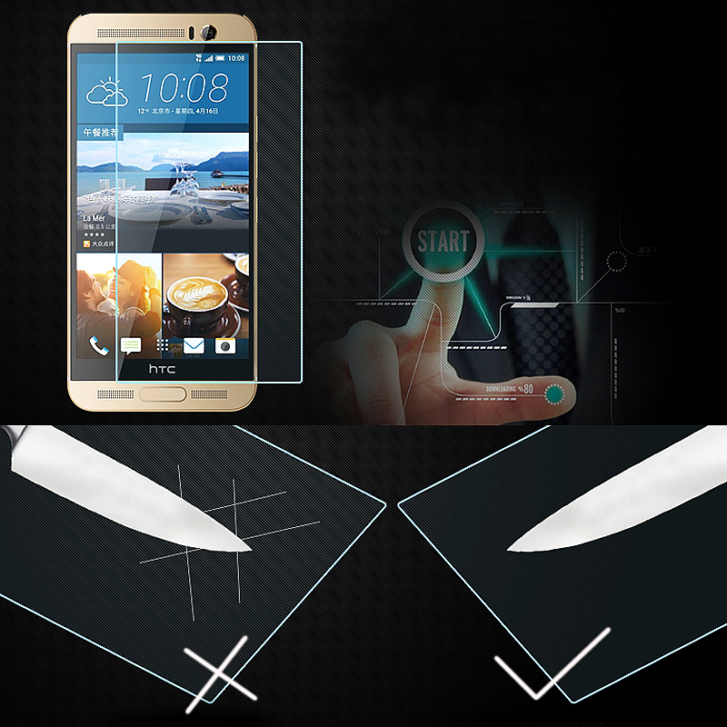 Tempered Glass Screen Film for HTC One M9