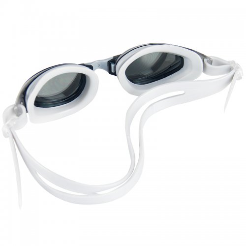 Adjustable Anti Fog Waterproof Glasses Swimming Goggles - Silver