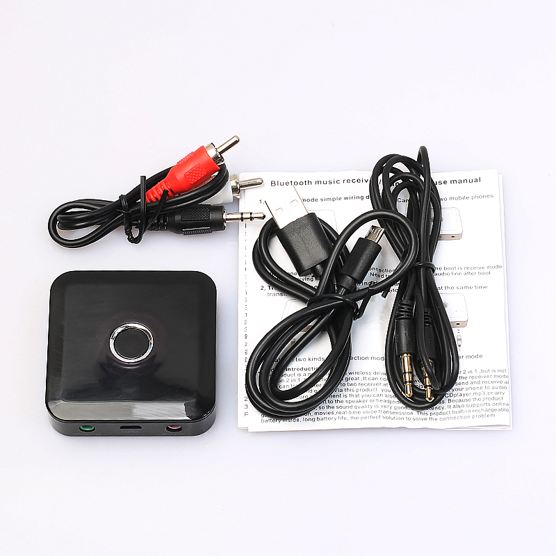 Wireless 2 in 1 Bluetooth Adapter Audio Stereo Music Transmitter Receiver