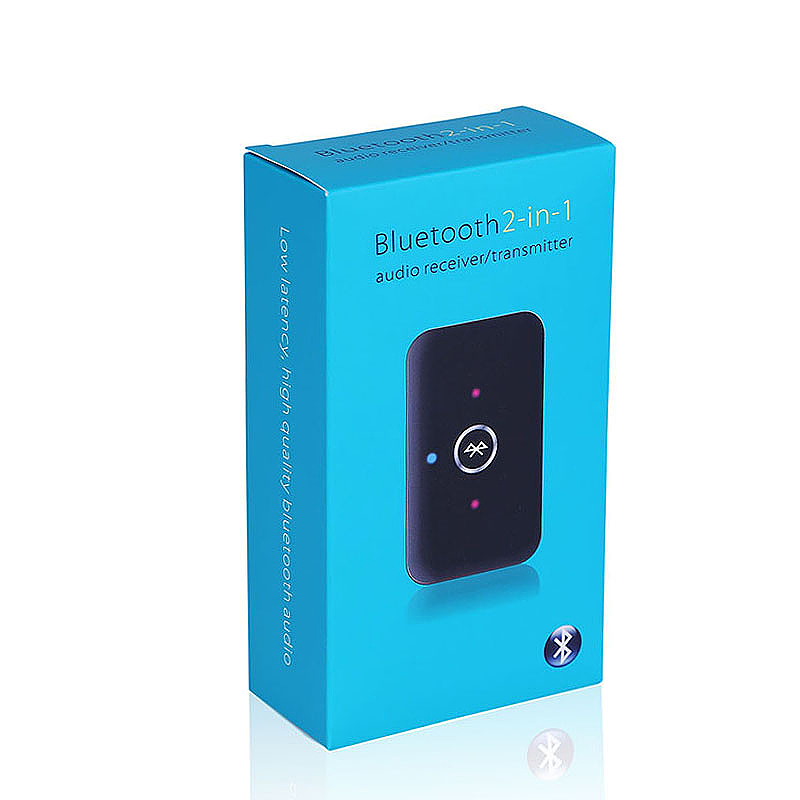 2 in 1 Wireless Bluetooth Stereo Music Audio Adapter Transmitter and Receiver