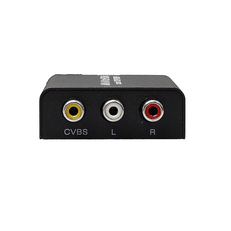 Mini 1080P AV to HDMI Metal Shell Adapter Converter