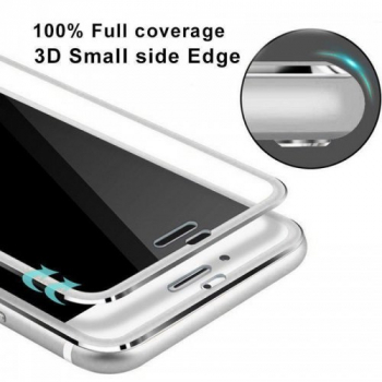 3D Curved Full Cover Tempered Glass Film Screen Protector for iPhone 7/8 Plus - Silver