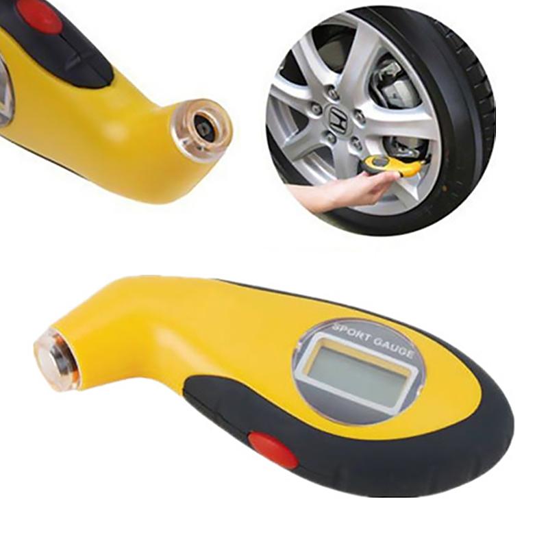 Digital Tyre Air Pressure Gauge for Auto Car Motorcycle