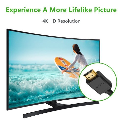 HDMI Right Angled Cable 1080p HDTV Video LCD 270 Degree Lead Adapter 1.8M