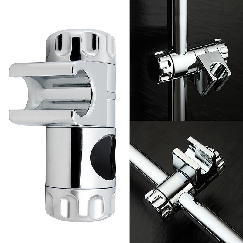 Adjustable Replacement 25mm Shower Head Slider Raiser Rail Bracket