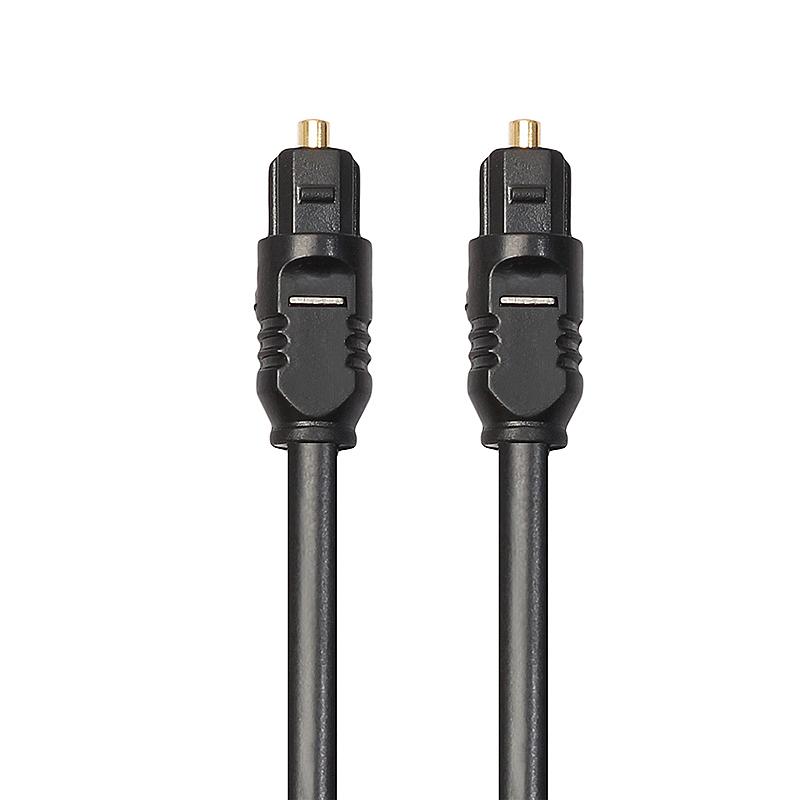 5M Premium Gold Plated Digital Audio Optical Fiber Cable