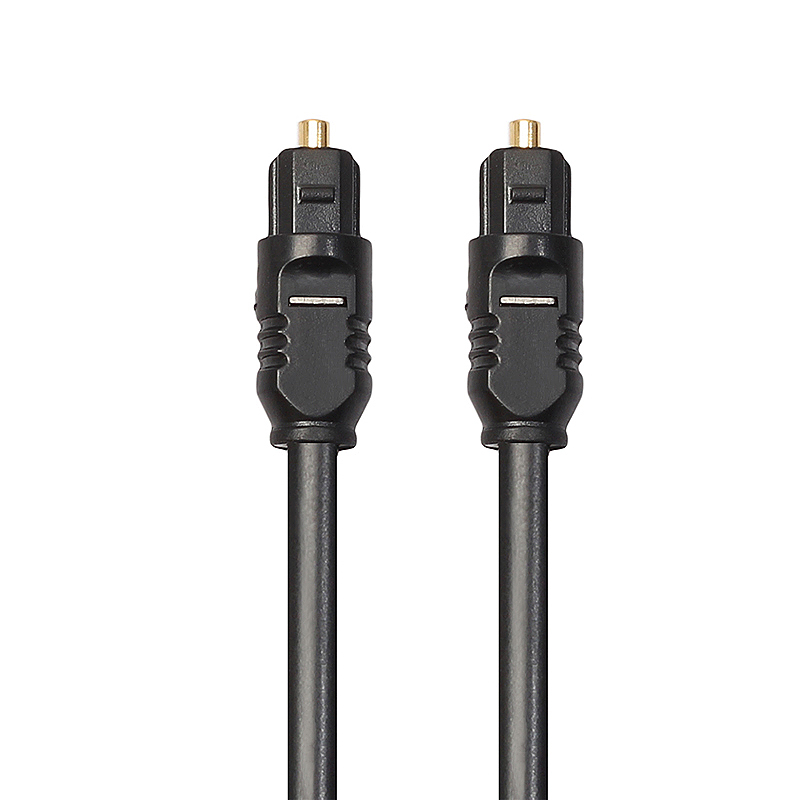 2M Premium Gold Plated Digital Audio Optical Fiber Cable