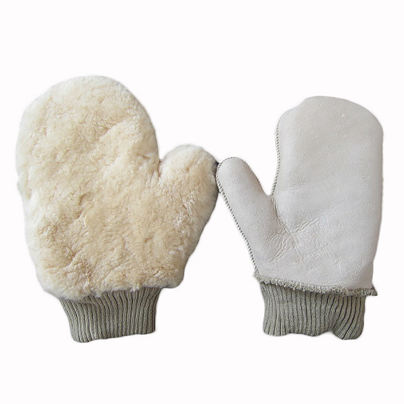 Professional Soft Double Side Synthetic Wool Car Wash Mitt Cleaning Glove
