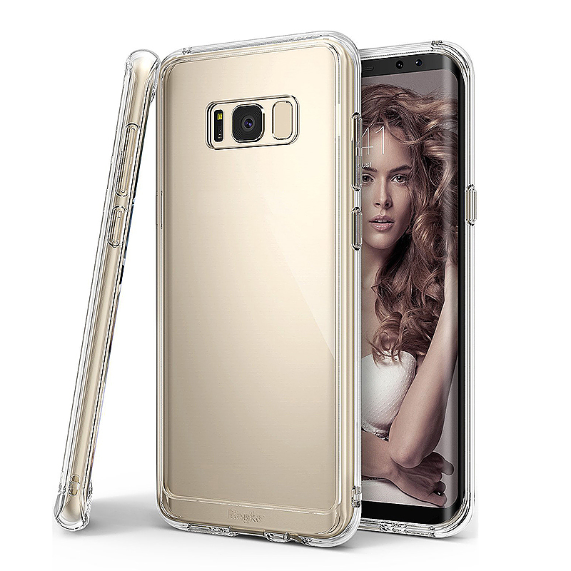 Samsung Galaxy S8 Soft Case Crystal Clear TPU Bumper Full Back Cover