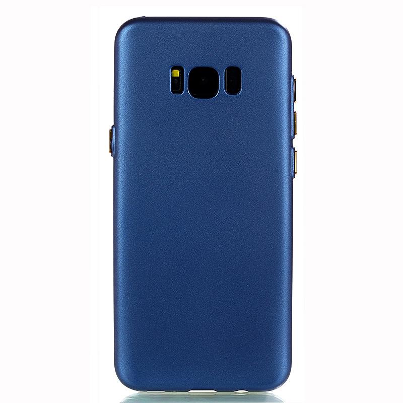Ultra Scratch Resistant TPU Soft Skin Case Cover for Samsung Galaxy S8 Plus - Blue
