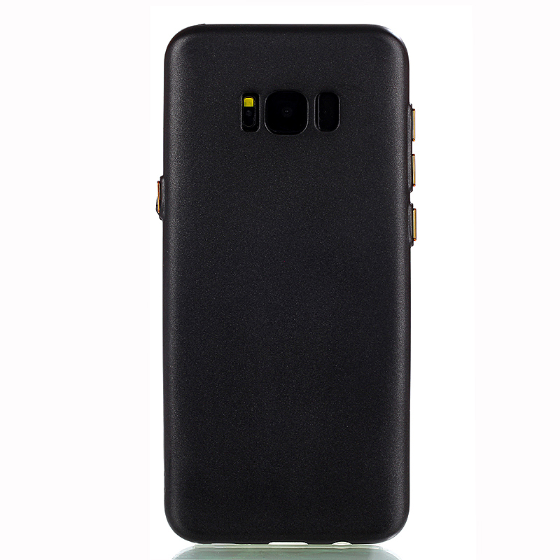 ShockProof TPU Slim Rugged Case Cover for Samsung Galaxy S8 - Black