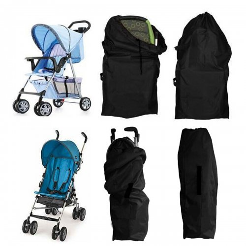 Universal Travel Storage Bag Infant Stroller Pushchair Cover Organizer