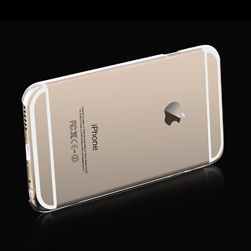 Ultra Thin Transparent Clear Hard PC Back Phone Case Cover for iPhone 6
