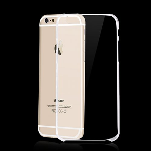 iPhone 6 Plus Transparent Clear Case Hard PC Back Phone Cover