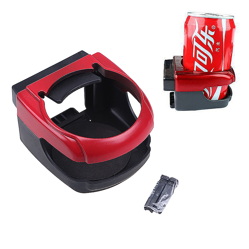 Universal Car Vent Cup Drink Bottle Holder in Car - Red