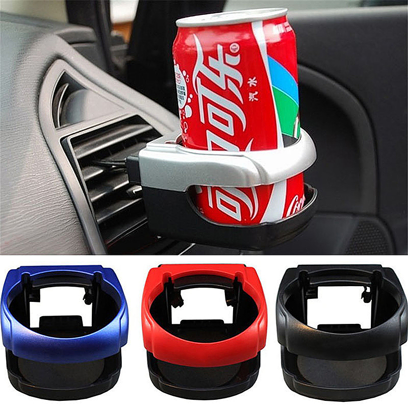 Universal Car Vent Cup Drink Bottle Holder in Car - Silver