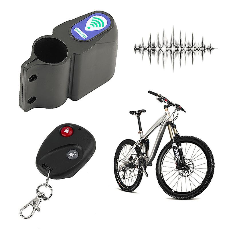 Cycling Bicycle Security Lock Controller Anti-theft Alarm