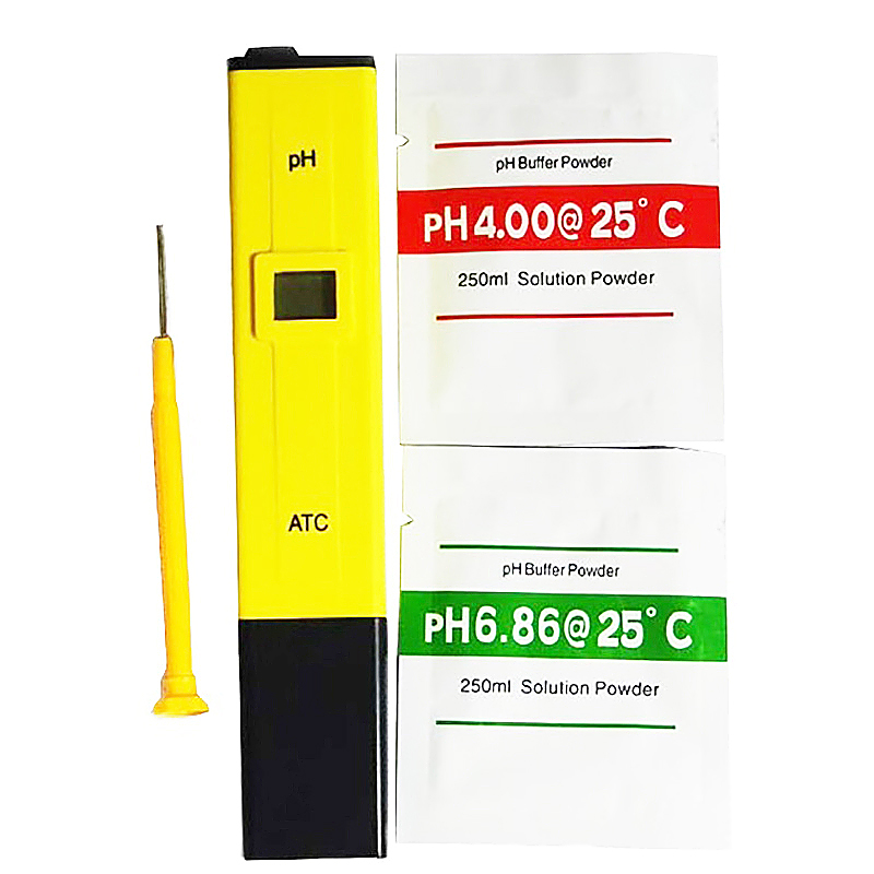 Portable Mini LCD Digital PH Tester Pen Type PH Meter Analyzer