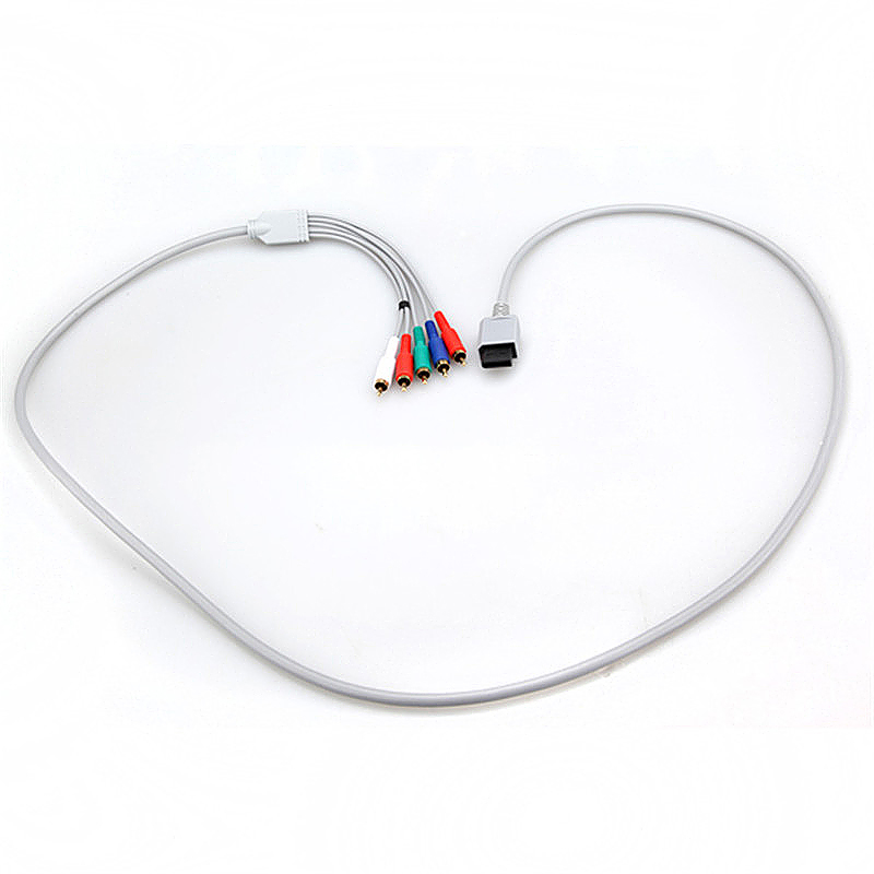 1.8m High Definition HD AV Audio Video Adapter Cable for Wii Gaming System