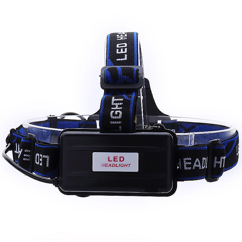 T6 Cree XM-L2 Headlight Head Lamp LED Rechargeable Head Lights Lamp with Battery Charger
