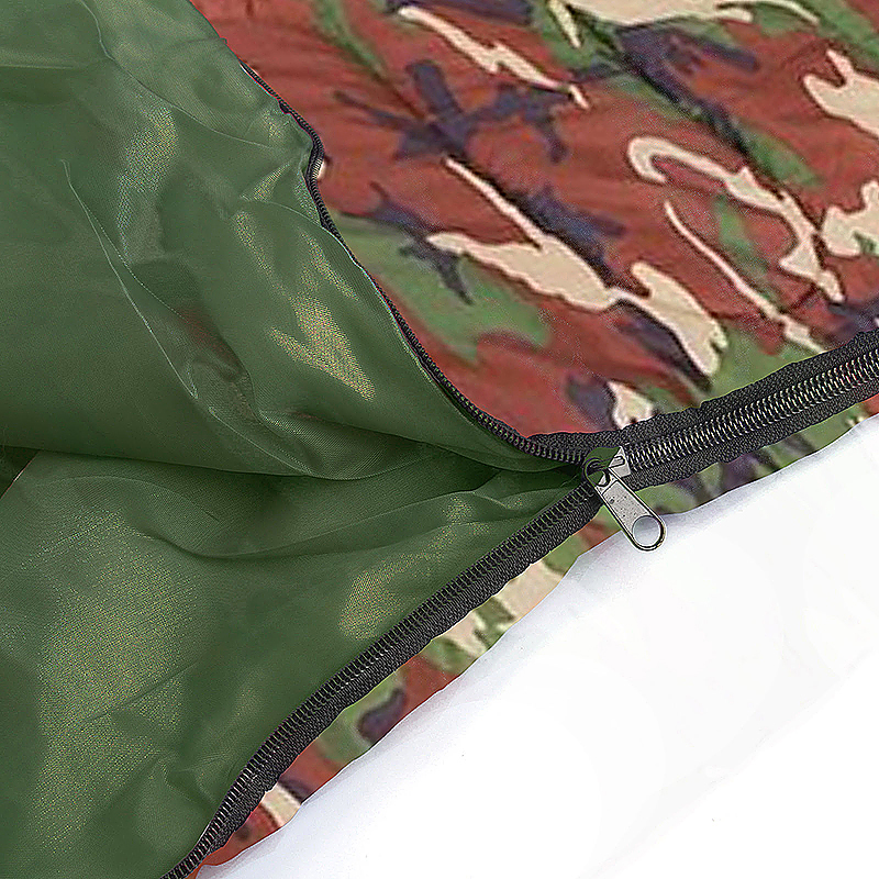 Outdoors Camping Hiking Sleep Carrier Camouflage Thick Waterproof Sleep Bag