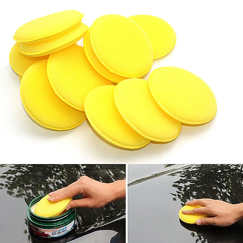 Car Cleaning Foam Sponge Cleaner Applicator Pads for Car Washing Cleaning