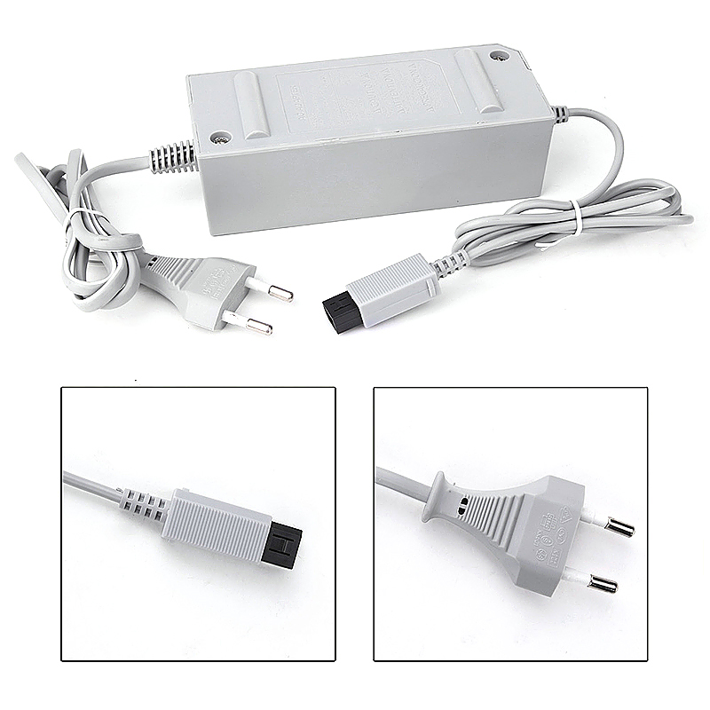 Universal Charger EU Plug Wall AC Adapter Adaptador for Wii Console Gamepad