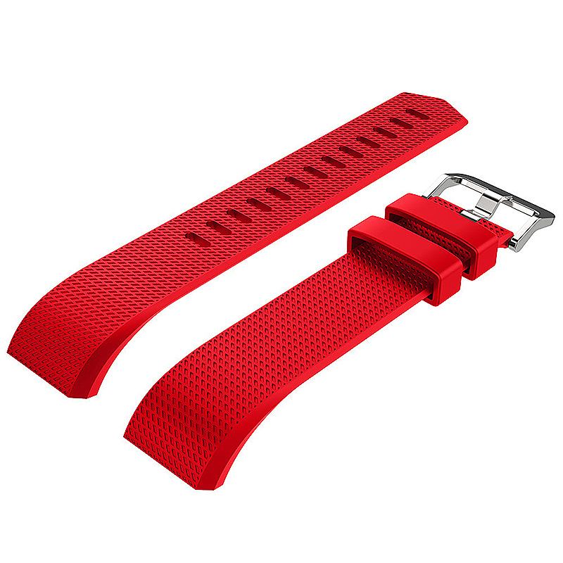 Fitbit Charge 2 Strap Band Silicone Relacement Wristband Smart Watch Bracelet Size L - Red