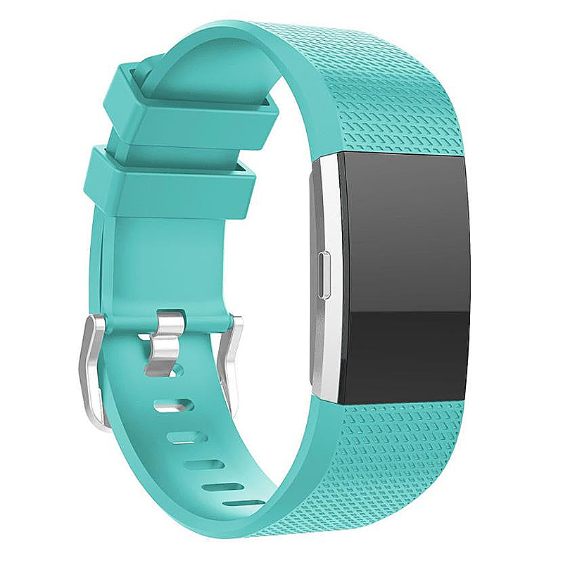 Fitbit Charge 2 Strap Band Silicone Relacement Wristband Smart Watch Bracelet Size L - Green