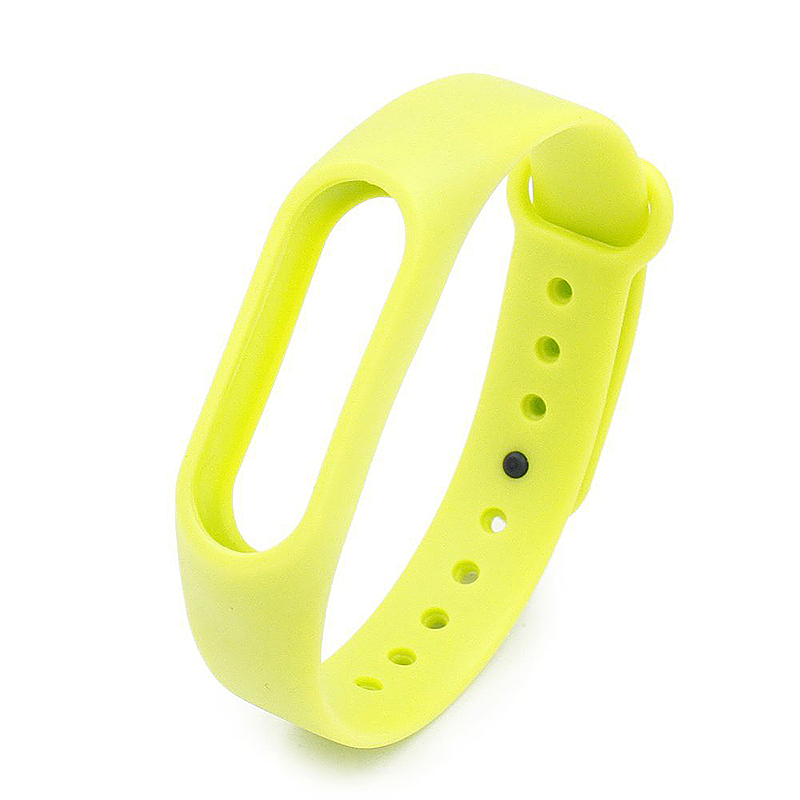 Replacement Silicone Wrist Strap Wristband Bracelet for Xiaomi Mi Smartband 2 - Green