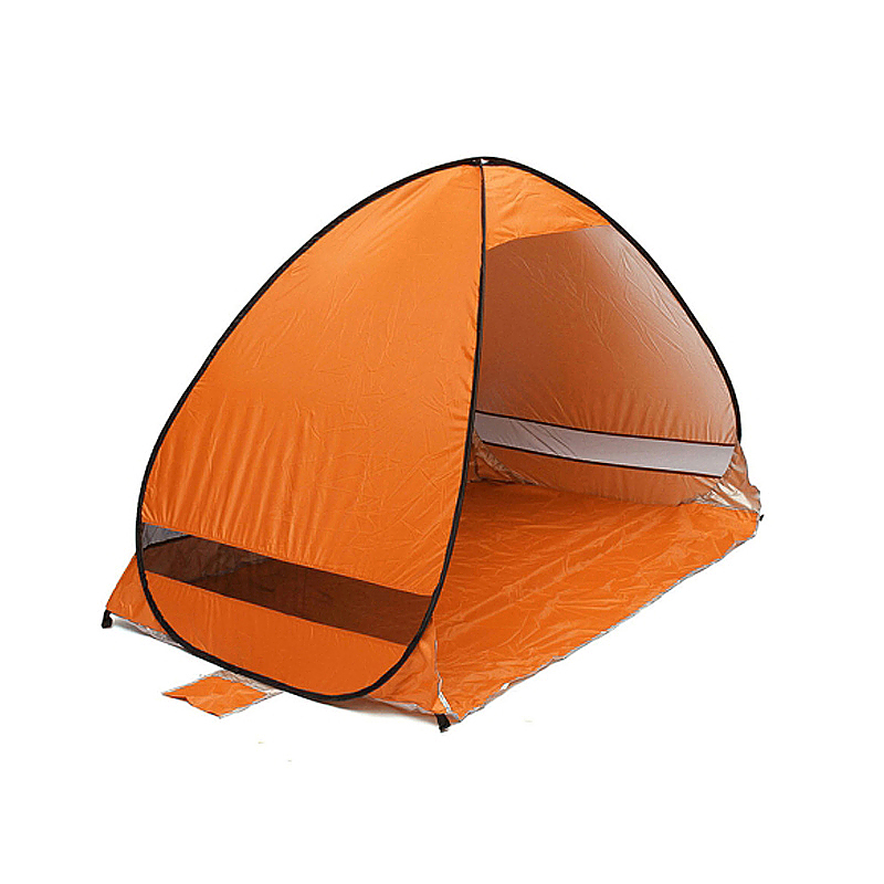 Camping Beach Tent Garden Sun Shade UV Protection Shelter Tents - Orange