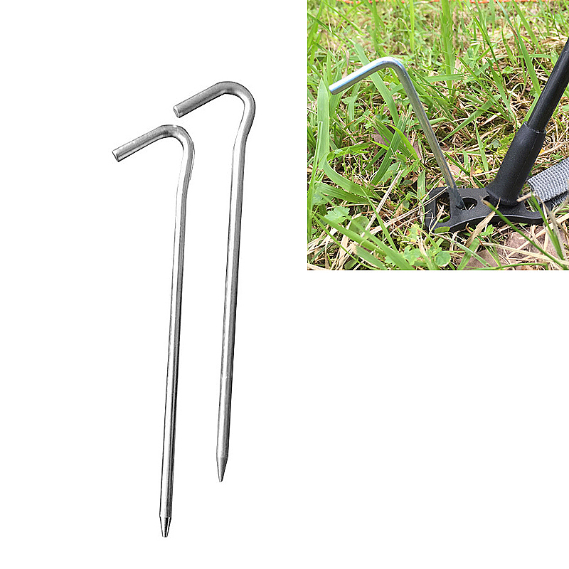 Aluminium Alloy Durable Steel Metal Pegs Hooks Ground Pins for Camping Tent