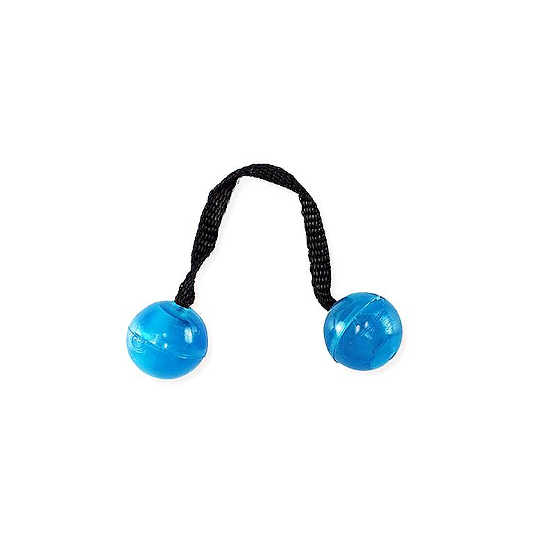Thumb Chucks Roll Control Stress Reliever Night Glowing Yo-yo Fidget Spinner Toys - Blue