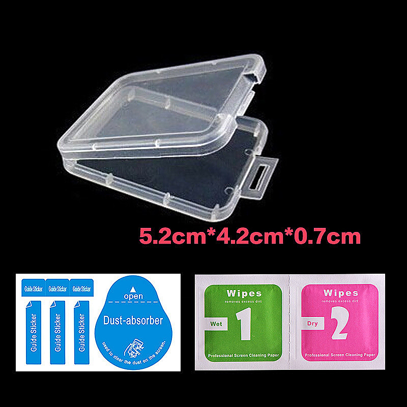 Transparent Tempered Glass Camrea Lens Case Cover Protector for iPhone 7