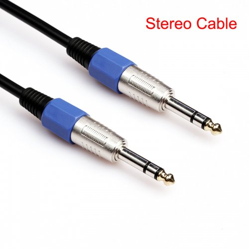 20M Premium Stereo 6.35mm Male to Male Audio Cable Gold Plated Electric Guita Cord