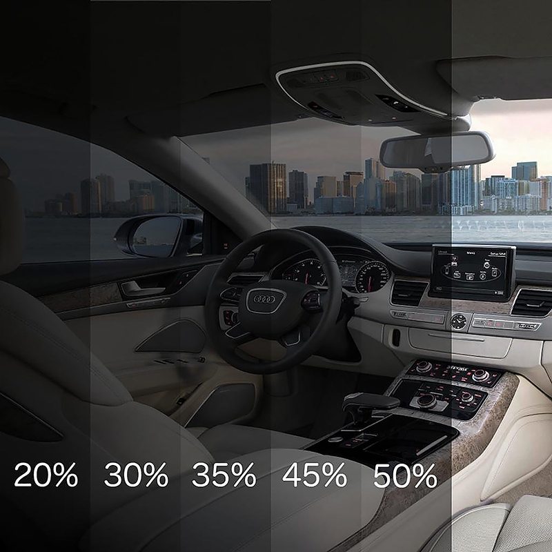 15% Pervious Light Black Car Rear Window Sun Shade Cover Sunshine Blocker Mat Visor Screen Cover