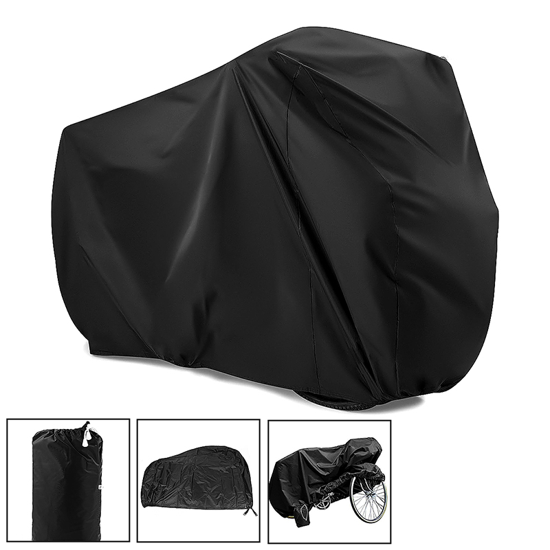 Large Motorcycle Waterproof Scooter Motorbike Rain Vented Bike Dust Cover