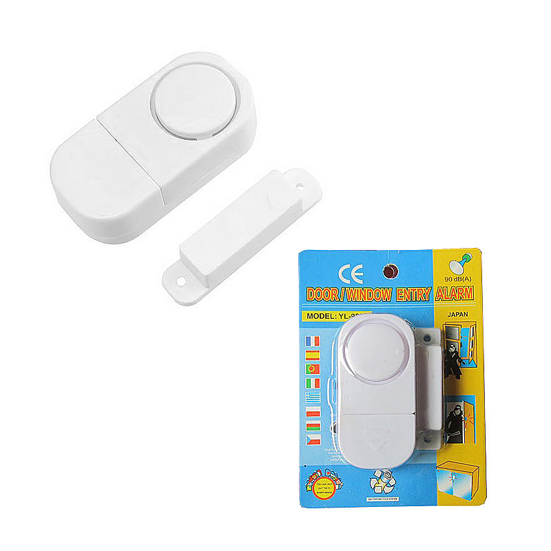Wireless Home Window Door Burglar Security Alarm System Magnetic Sensor Alarmer