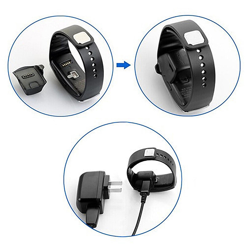 Samsung Galaxy Gear Fit SM-R350 Smart Watch Charging Dock Station Charer Adapter