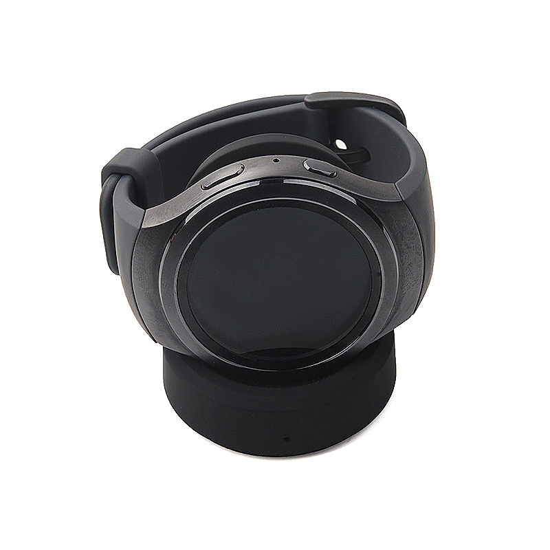 Samsung Gear S3 Smart Watch Dock Cradle Charger Smart Watch QI Wireless Charger - Black