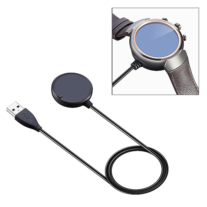 ASUS ZenWatch 3 WI503Q Smart Watch USB Charger Dock Station Charging Cable